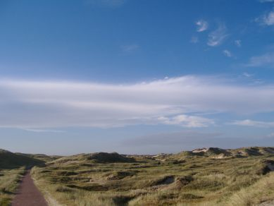 Nordsee-Küstenradweg in Holland