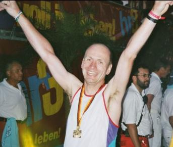 Iron Chris: Ironman Germany Frankfurt (13. Juli 2003)
